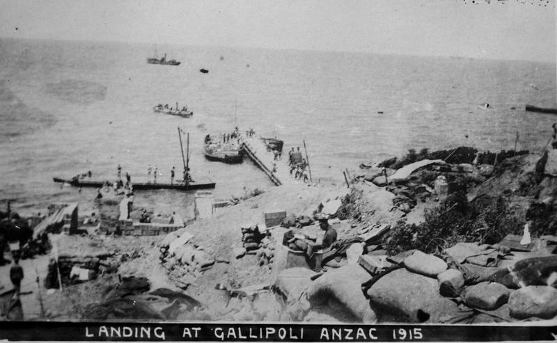 Landing at Gallipoli - Hamilton City Libraries