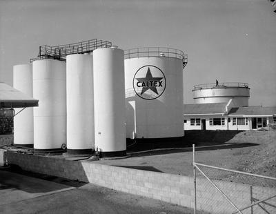 Caltex tanks