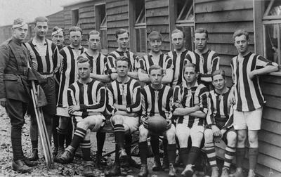 World War 1 - R.F.C. - Rugby team