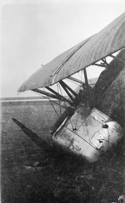 World War 1 - R.F.C. - Aircraft - Camel crashed