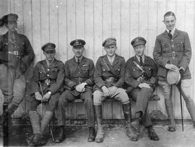 World War 1 - R.F.C. - Instructors - including H Graham
