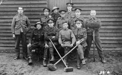 World War 1 - R.F.C. - Conscripted labour camps