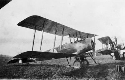 World War 1 - R.F.C. - Hardley Page - Aircraft