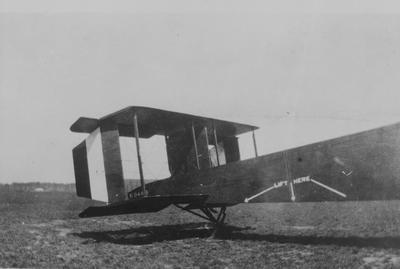 World War 1 - R.F.C. - Hardley Page - Aircraft