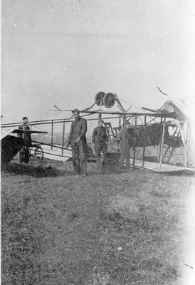 World War 1 - R.F.C. - crashed aircraft