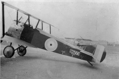 World War 1 - R.F.C. - Camel Aircraft