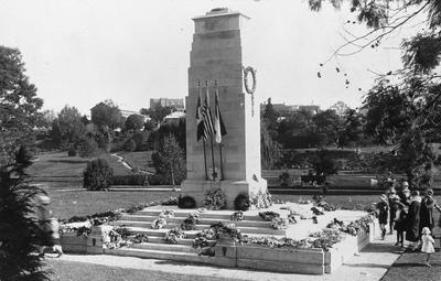 The Cenotaph at Memorial Park