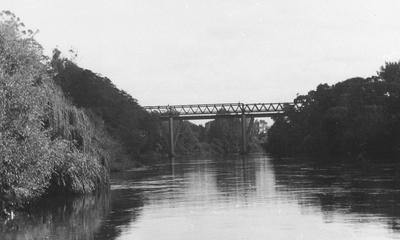 View of Claudelands railway bridge