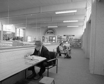 Mezzanine at Hamilton Public Library