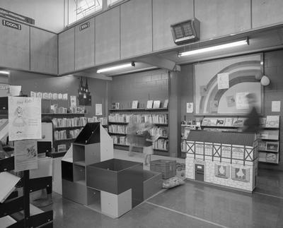Children's section at Hamilton Public Library