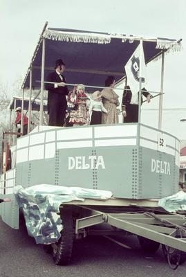MV Waipa Delta float