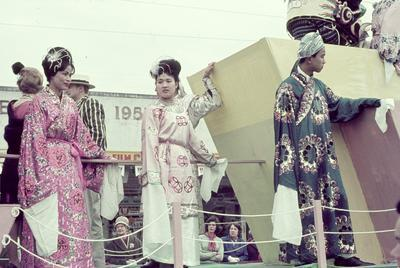 National costumes float