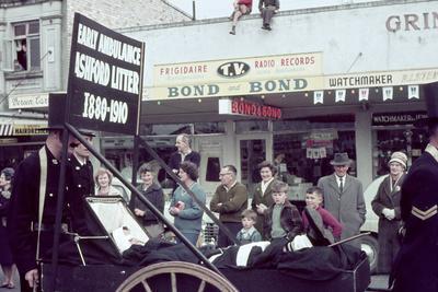 Centennial parade float