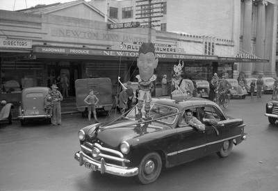 Ranfurly Shield parade