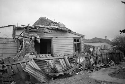 House destroyed by Frankton tornado