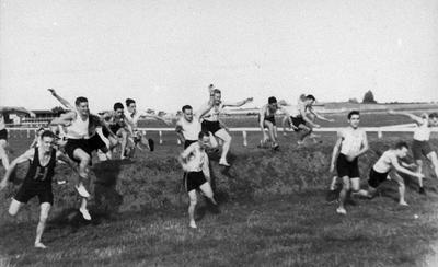 Training run at Te Rapa racecourse