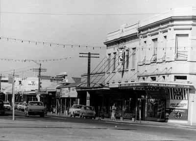 Commerce Street in Frankton