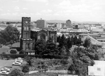 Aerial view of St Peter's Cathedral
