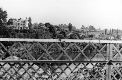Greenslade House as seen from the Traffic Bridge