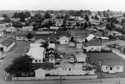 Post office yards on Clarence Street