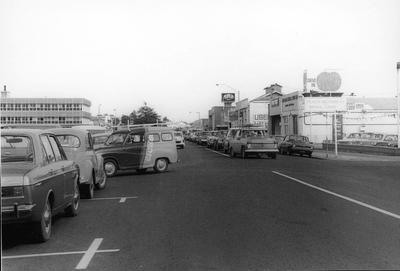 Traffic on Bryce Street