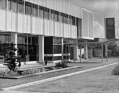 Buildings on Te Rapa Road