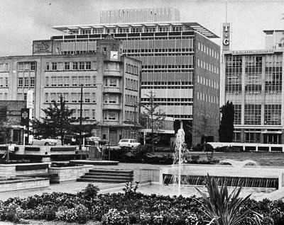 Garden Place fountains