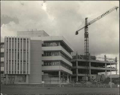 Building construction at Waikato University