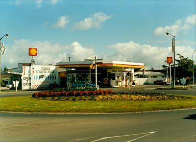 Five Cross Roads Shell service station