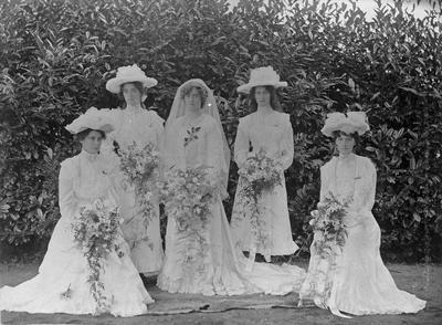 The wedding of F.A. Hume (nee Graham)
