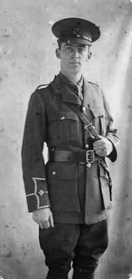 C.K. Graham in uniform