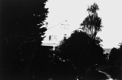 The home of R.S.A. Graham at Te Kuiti