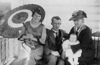 R.S.A. Graham and family