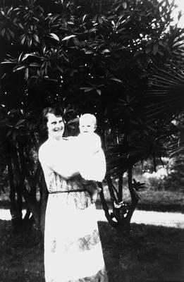 Mrs. Hilda Graham and Barbara Graham