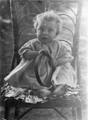 R.S.A. Graham (as infant)