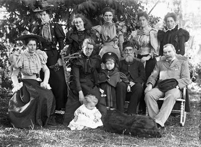 The Graham family on Easter Sunday