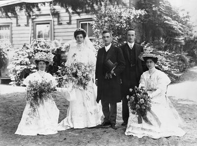 The wedding of A.C. MacDiarmid and Ruby Graham