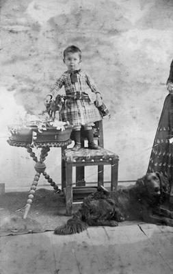 Cedric K. Graham on his second birthday