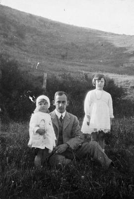 Mr. K.M. Graham and children