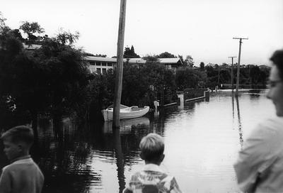 Ann Street in flood