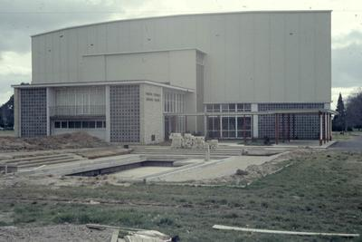Founders Theatre near completion