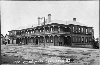The second Hamilton Hotel