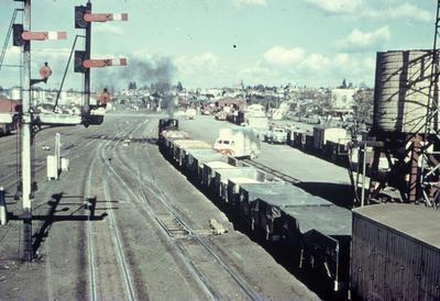 Frankton Junction railway yard
