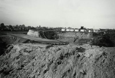 Cobham Drive under construction