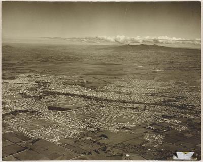 Aerial of Hamilton City