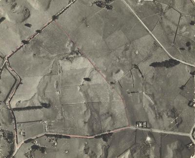 Aerial view of property as farm