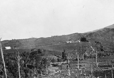 Land belonging to Thomas Clark