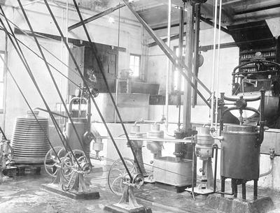 Interior of a Butter Factory
