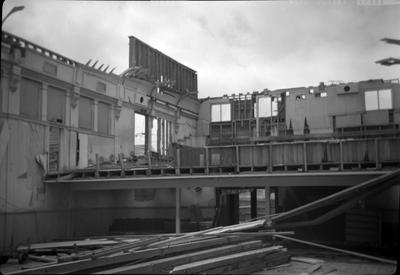 Demolition of the Civic theatre
