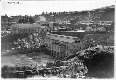 Horahora Power Station generation house